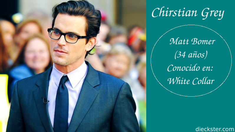 Cual es tu favorito para ser el Sr. Grey?